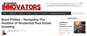 Brant Phillips – Navigating The Realities of Residential Real Estate Investing
